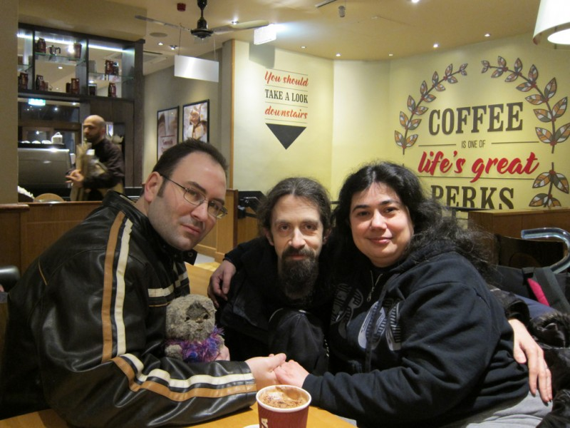 In Costa on Argyll Street. 2016-02-12