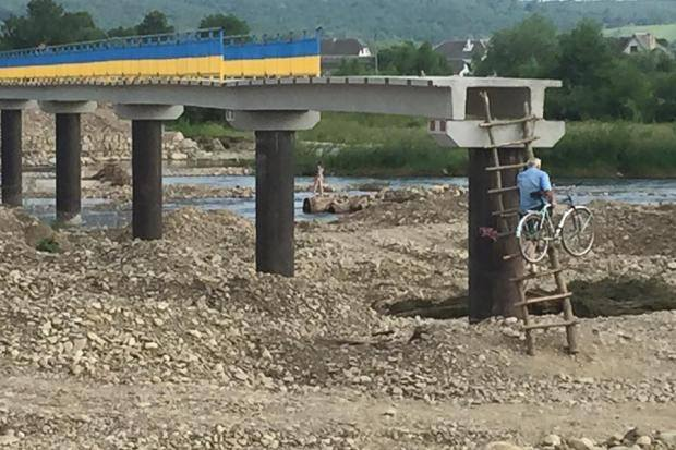мост калуш_подмихалье