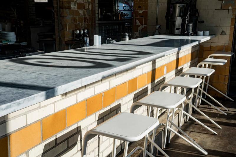 Olio, итальянский ресторан в Сент-Луисе, был переоборудован из старой заправки