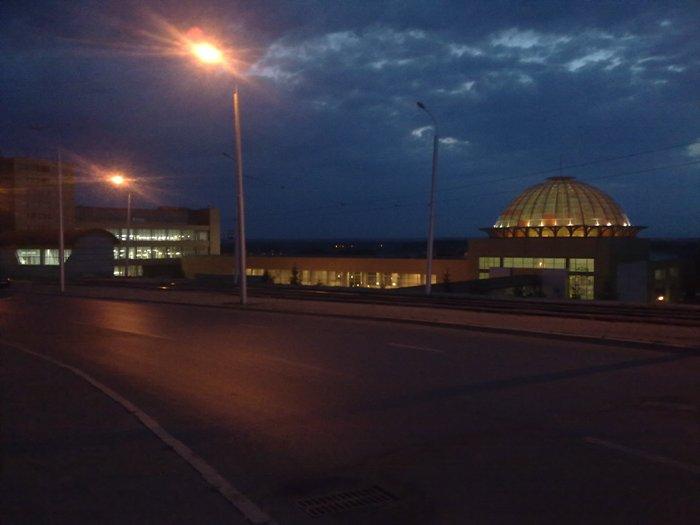 железнодорожный вокзал Уфа