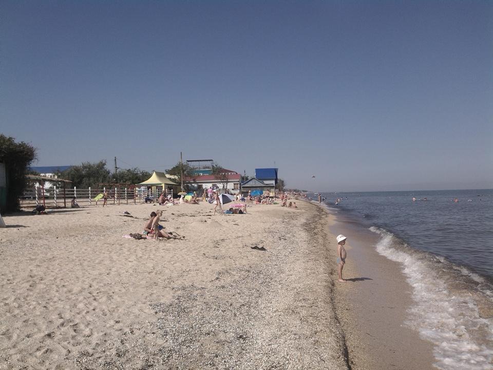Голубицкая Азовское море