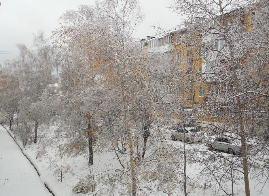 ледяной дождь в Златоусте