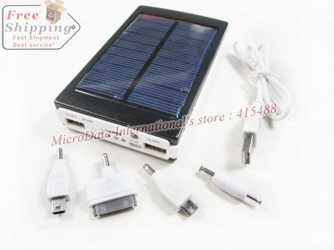30000 mAH акумулятор с солнечной батареей