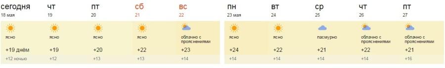 яндекс погода евпатория