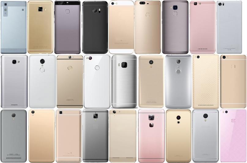 одинаковые телефоны