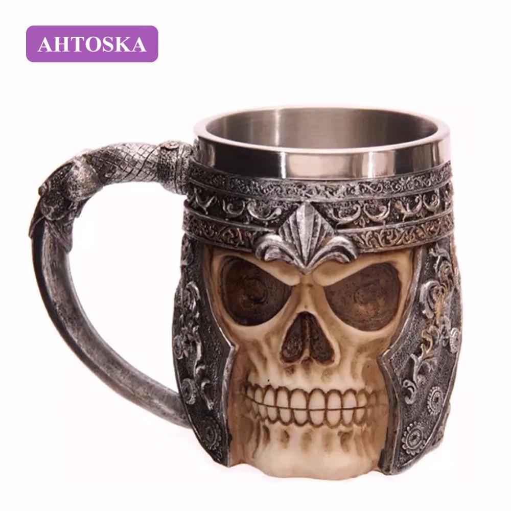 Кружка с черепом AHTOSKA-3D