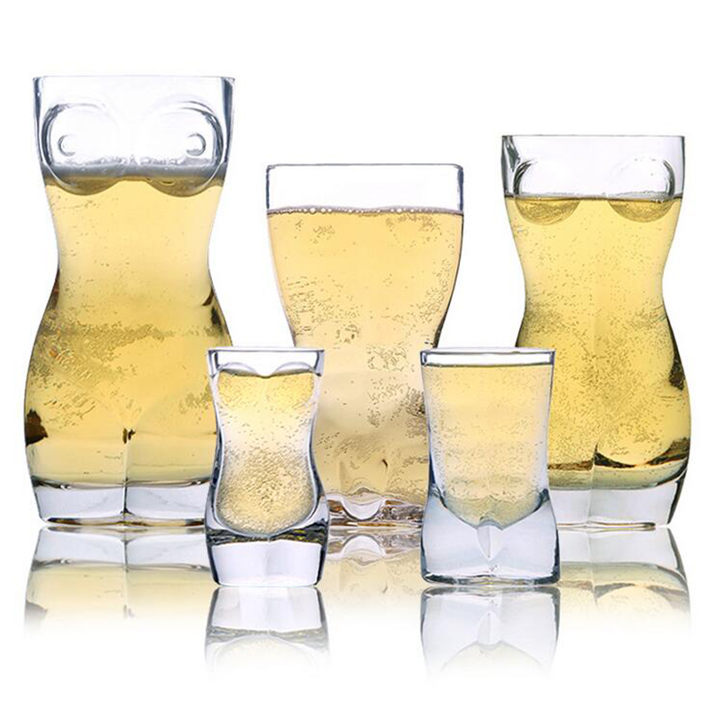 бокалы для пива в виде женской и мужской фигурыYikaze