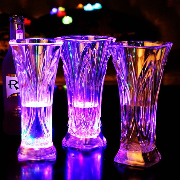 бокалы для пива, виски и других напитков со светодиодной подсветкой