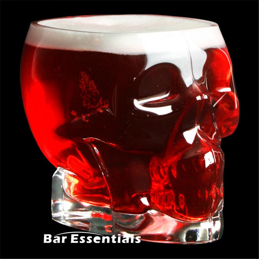 700 мл бокал для пива череп