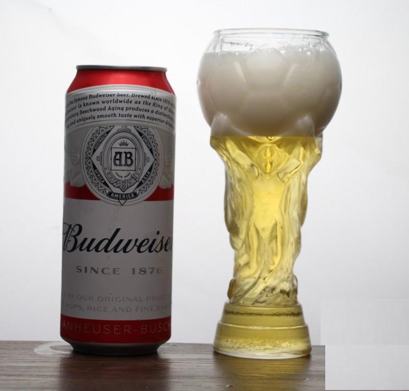 380 мл футбольный бокал для пива