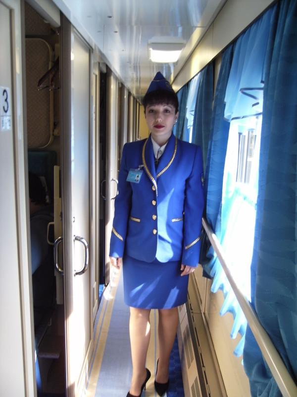 фото проводницы поезда юлиана кондрашовой