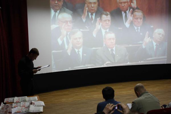 выступает активист СВ Петраков Сергей