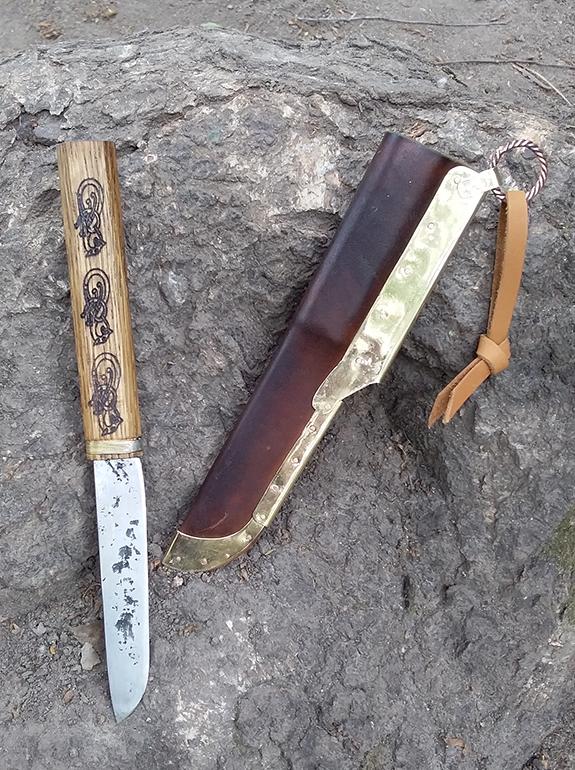 Нож викингов женский 6
