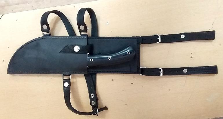 Ножны для байкера 3