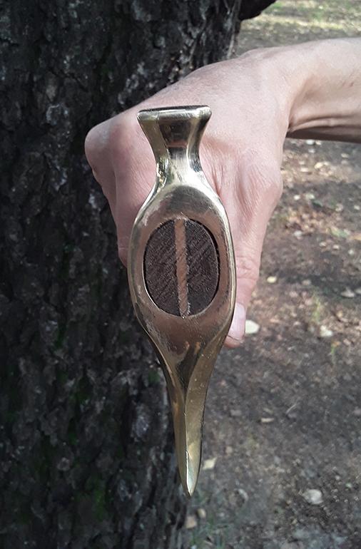Скифский бронзовый топор 7