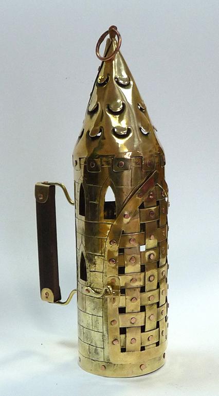 Фонарь свечной башня 5