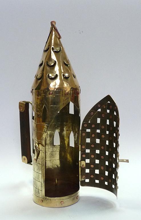 Фонарь свечной башня 6