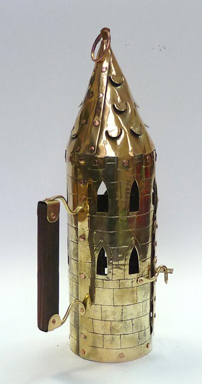 Фонарь свечной башня 7