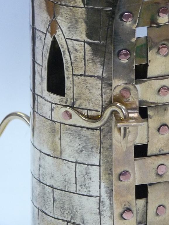Фонарь свечной башня 8