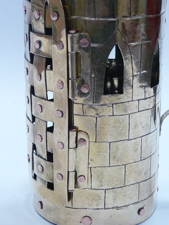 Фонарь свечной башня 9