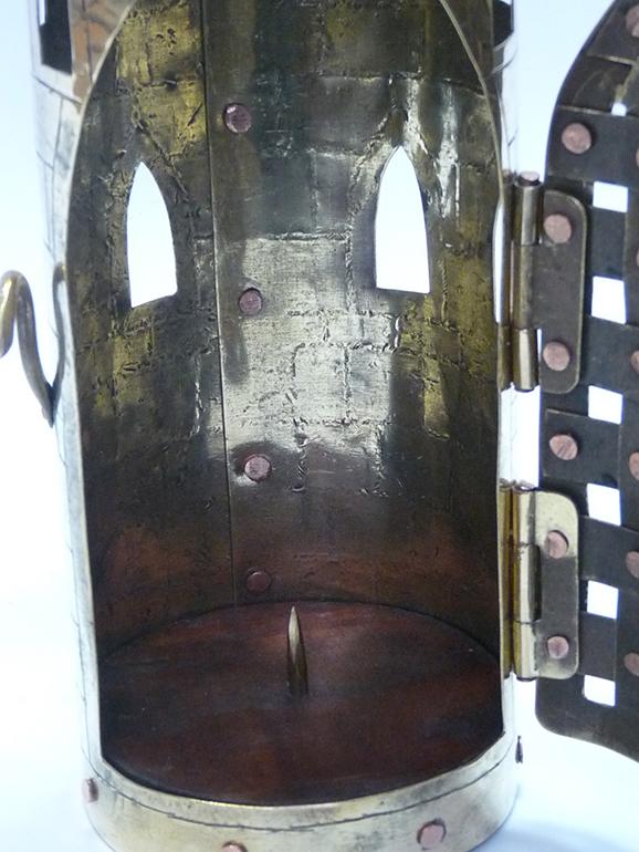 Фонарь свечной башня 12