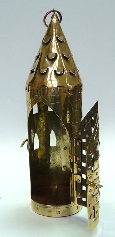 Фонарь свечной башня 13