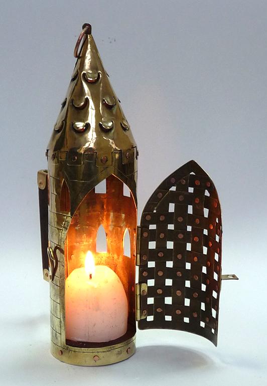 Фонарь свечной башня 14