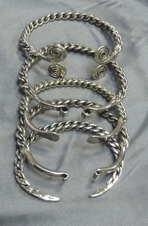 Витые браслеты 5