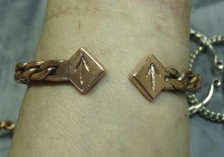 Витые браслеты 7