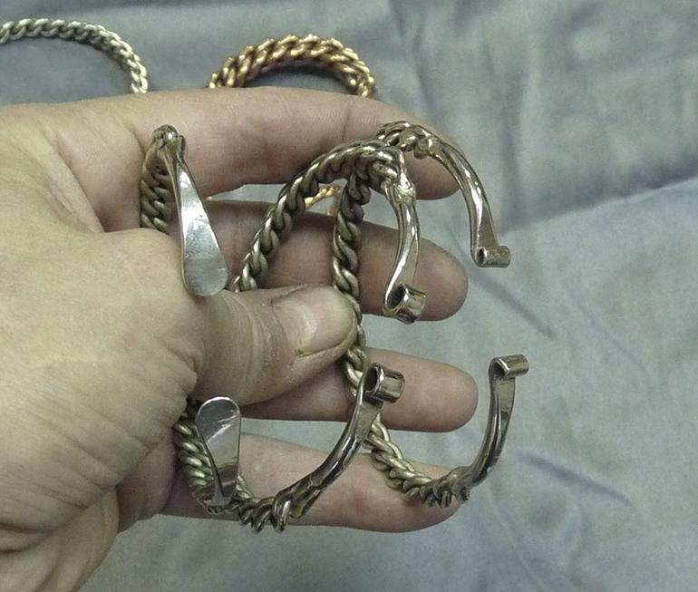 Витые браслеты 13