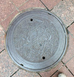 20130806 Manhole Q around City Center