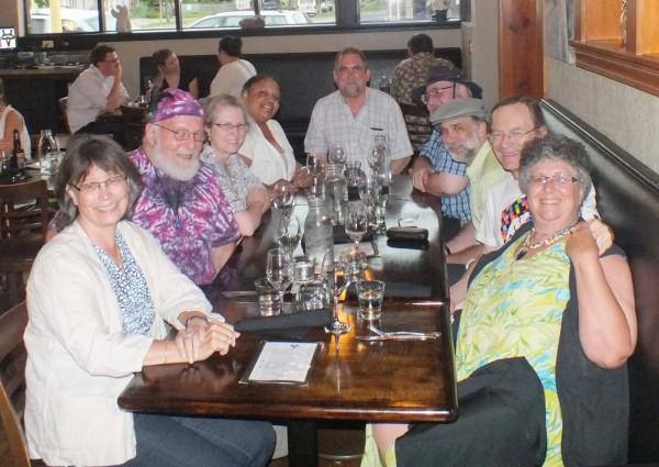 20130806 Dinner expedition after Fringe show