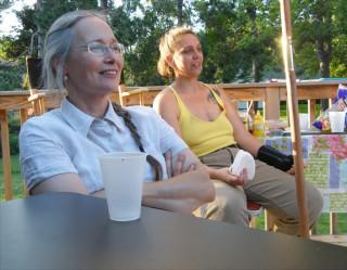 Erica and Liz