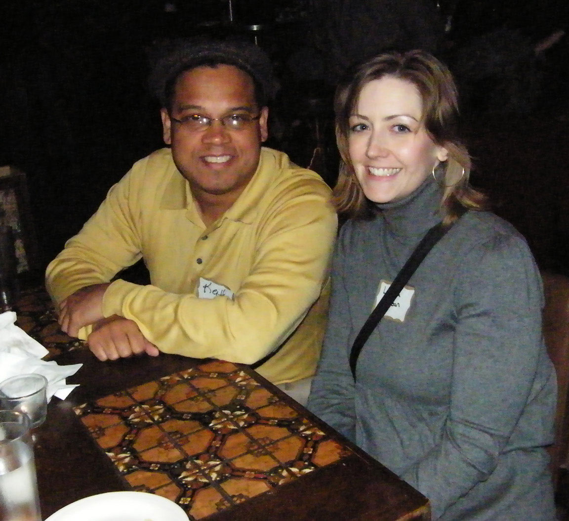 Keith Ellison and Laura Jean