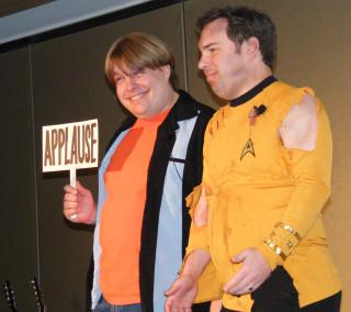 the great Luke Ski and Earl Luckes as Kirk