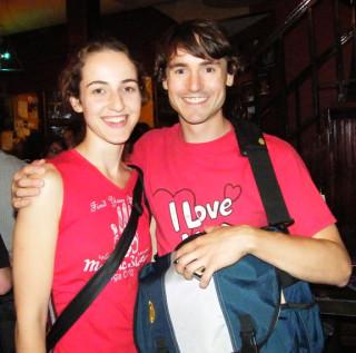 Monica Rodero & Dan Schuchart, Bedlam Theatre, 7/29/09