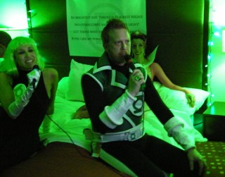 Green Lantern karaoke
