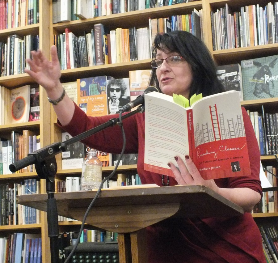 Barbara Jensen reads at Magers and Quinn, 11/3/12