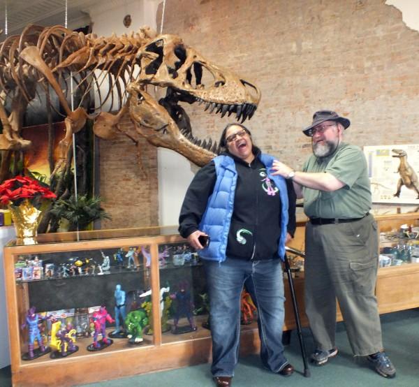 Makoshika Dinosaur Museum 12/22/12