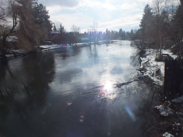Deschutes River, Bend, OR 12/26/12