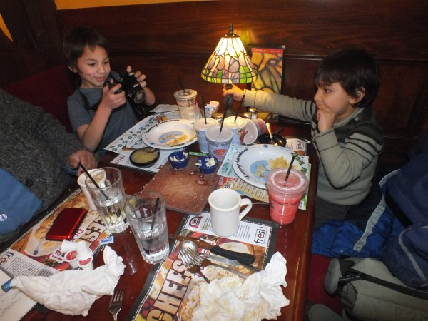 Spaghetti Factory, Clackamas OR 12/27/12