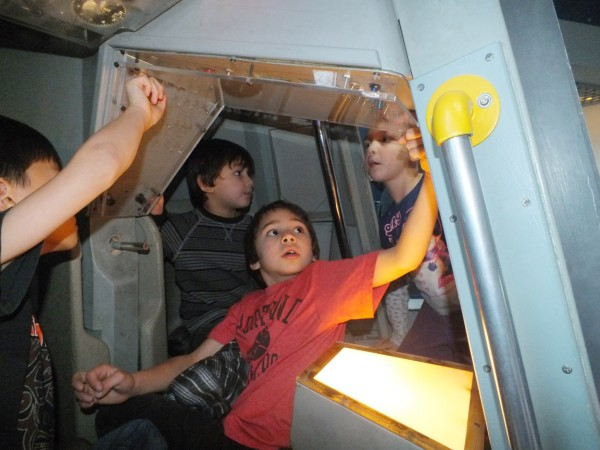 Inside a Gemini capsule, OMSI 12/28/12