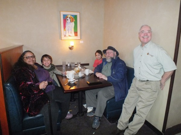 with Tom, owner of the Rendezvous 12/29/12
