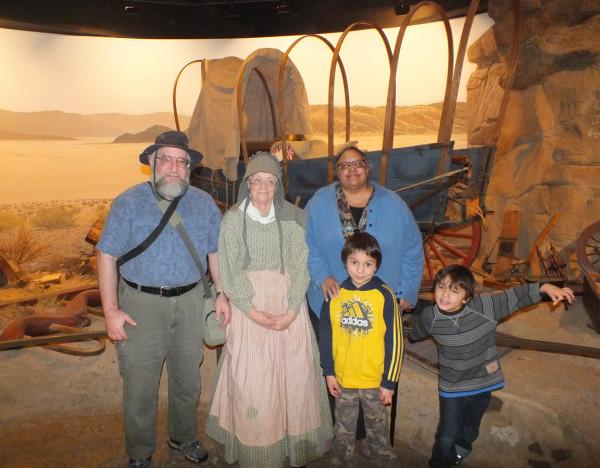 1853 Settler, High Desert Museum 12/30/12