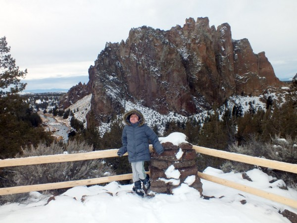 Bangii, Smith Rock State Park, 12/31/12