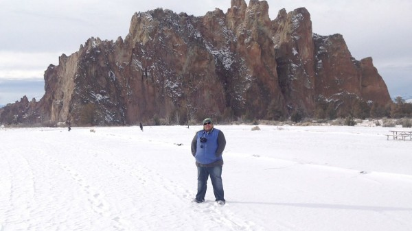 Carole, Smith Rock State Park OR, 12/31/12