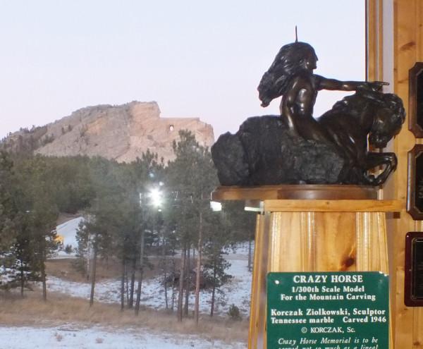 Crazy Horse Memorial 1/5/13