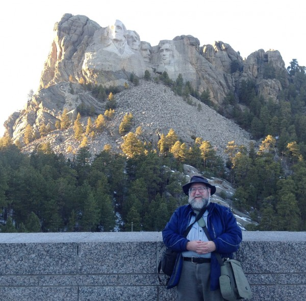 Dave at Mount Rushmore 1/5/13