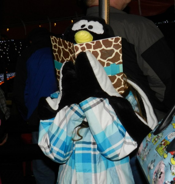 Penguin Hat, ZooLights, Oregon Zoo, Portland, OR 12/27/12