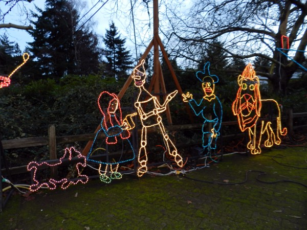ZooLights, Oregon Zoo, Portland, OR 12/27/12